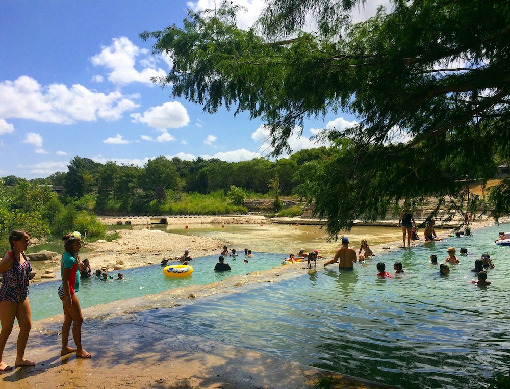 Beating the Heat in Central Texas State Parks